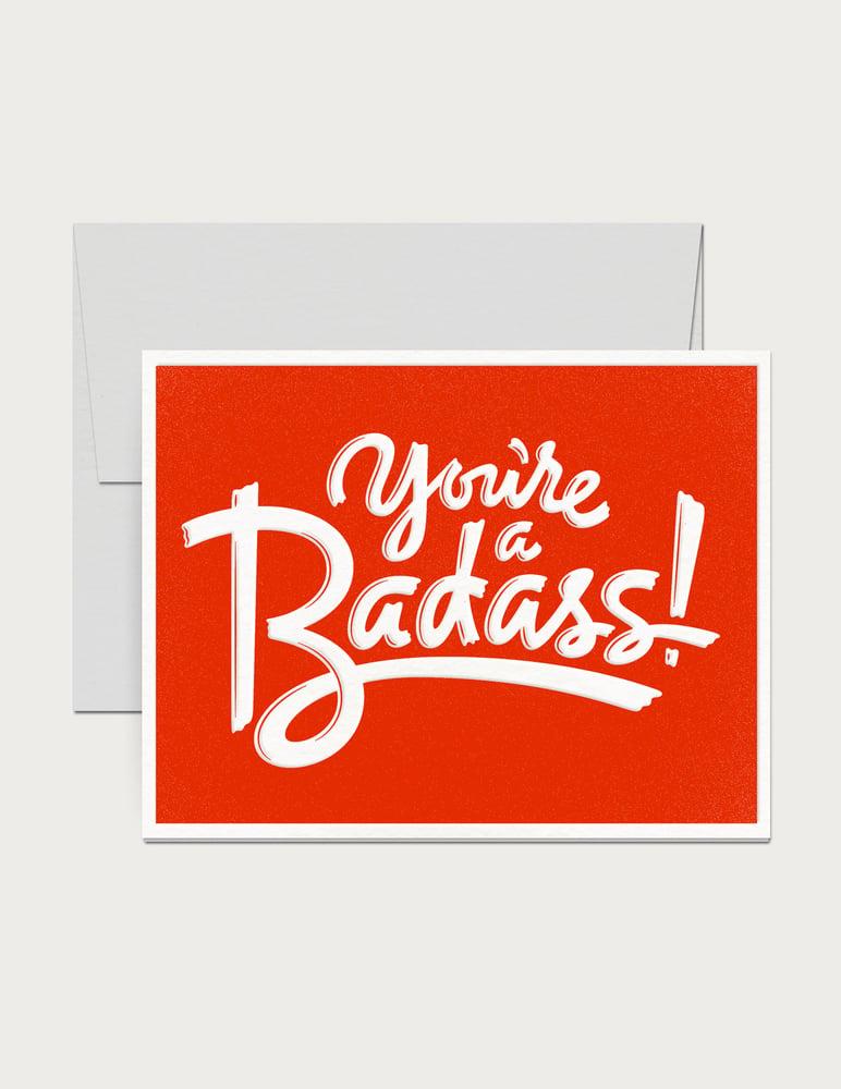 Image of Badass Card