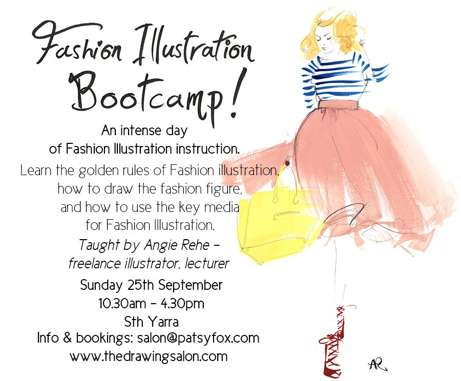 Image of Fashion Illustration Bootcamp!