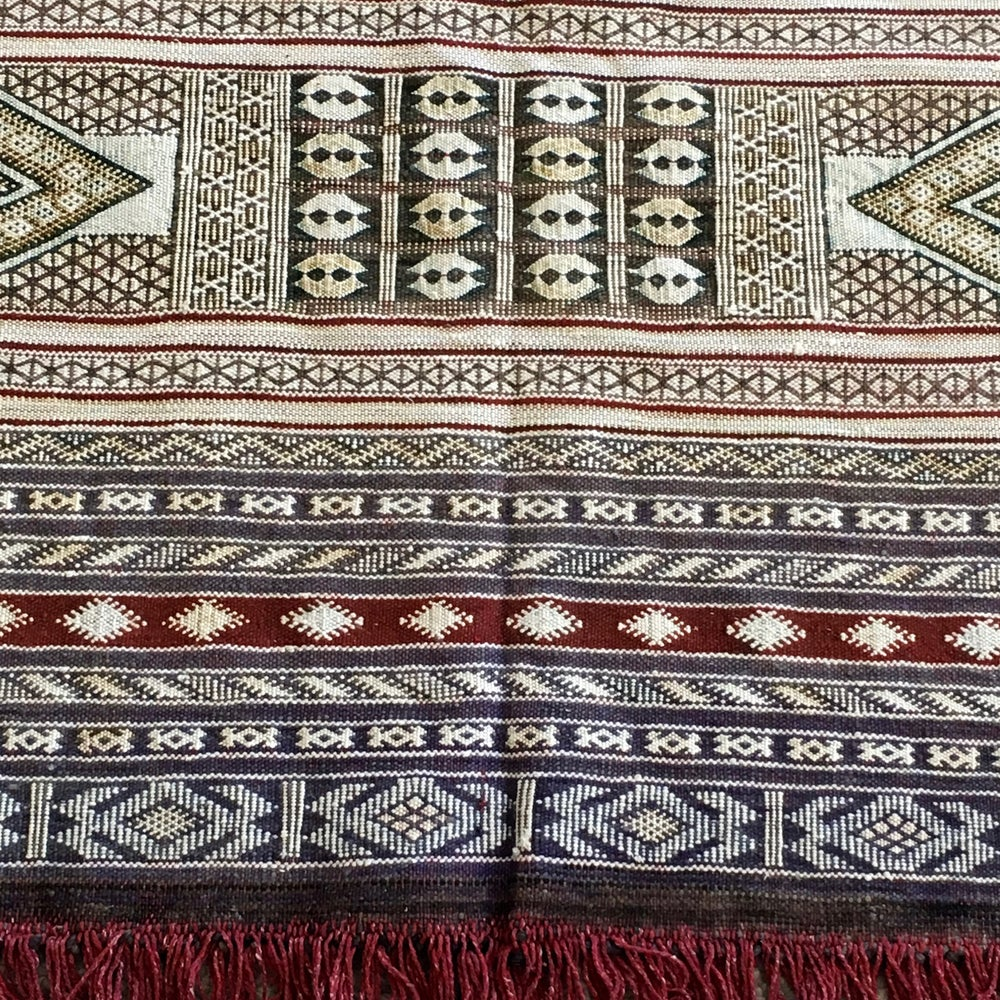 "Image of ""Amal"" Ait Zaiane Marriage Kilim"