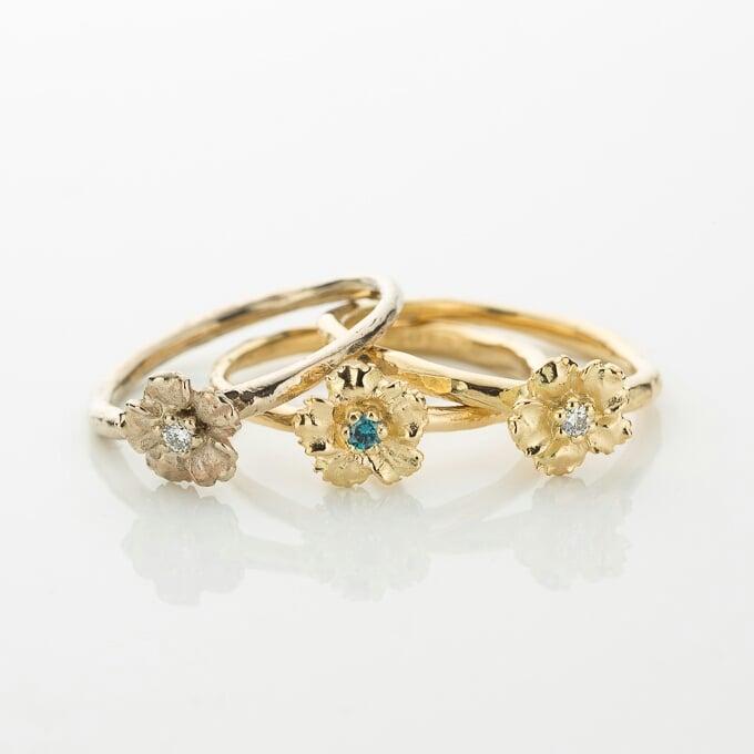 Beeld van Anemone ring