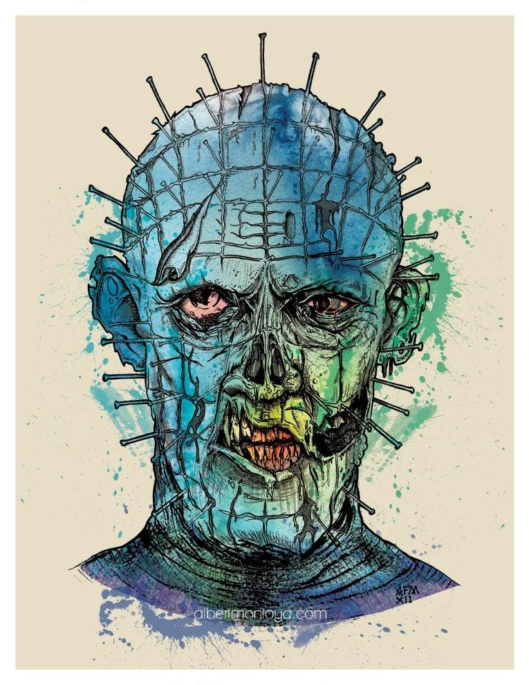 """Image of Print """"Zombie Raiser"""""""