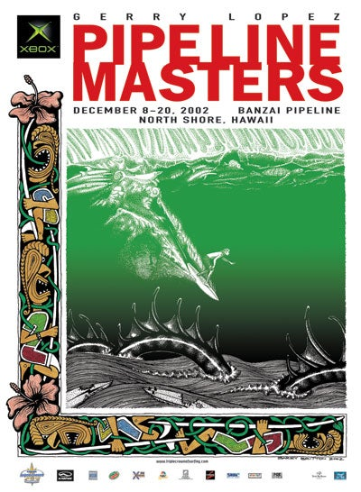 Image of Pipeline Masters 2002 - Limited Edition