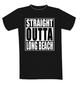 Image of STRAIGHT OUTTA LONG BEACH T-SHIRT