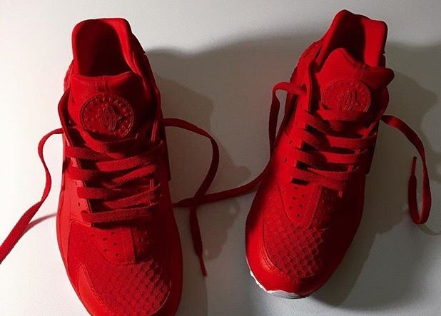 sports shoes 20069 8ce85 Solid colored huaraches
