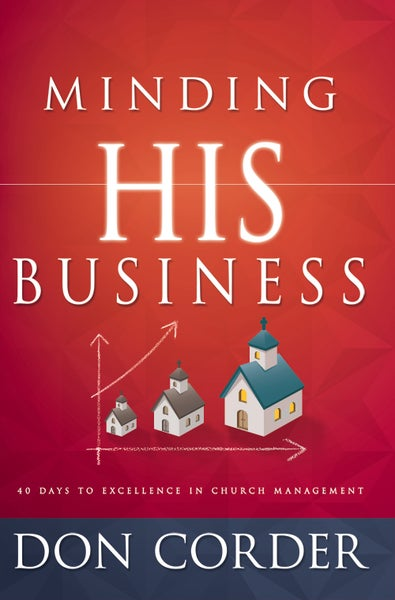 Image of Minding His Business - Hard Cover Book