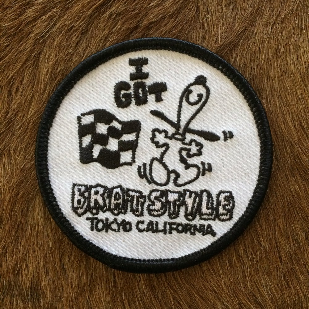 Image of BRAT STYLE PATCH by CHASE STOPNIK