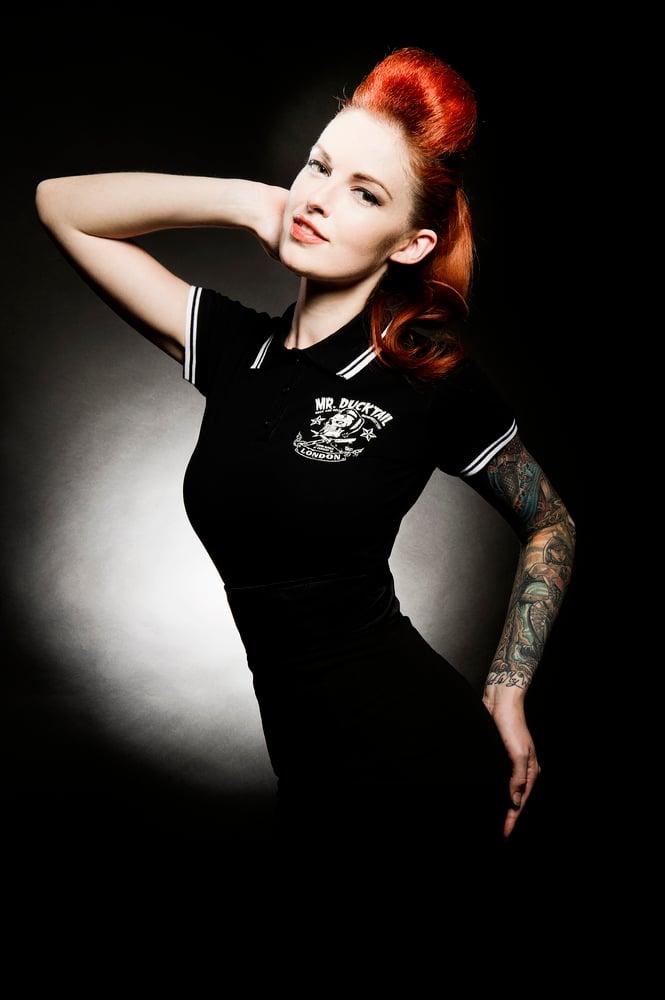 Image of Girlie polo shirt
