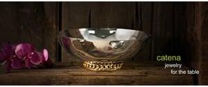 Image of Beatriz Ball Catena Bowl (Large) 13 x 13 x 4 1/2