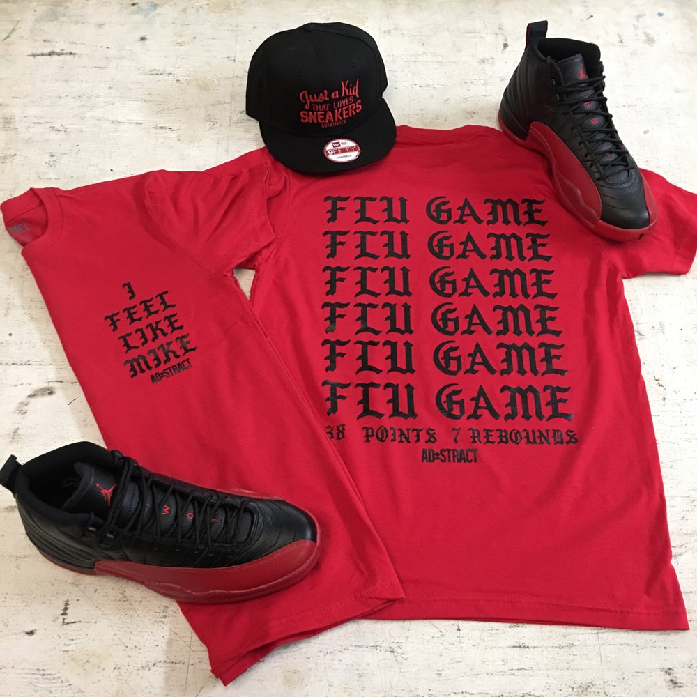 I FEEL LIKE MIKE... (FLU GAME) TSHIRT