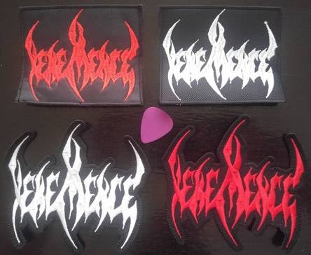 Image of Embroidered Vehemence Patches