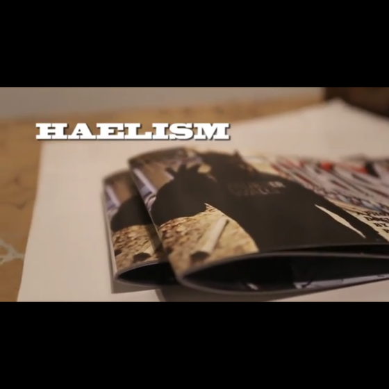 "Image of ""HAELISM"" Original Zine by BazookaFilms77"
