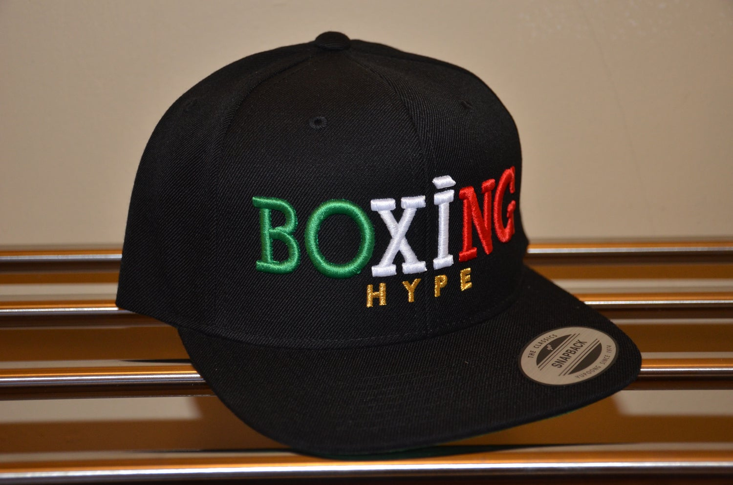 Image of RED In boxing we trust Snapbacks