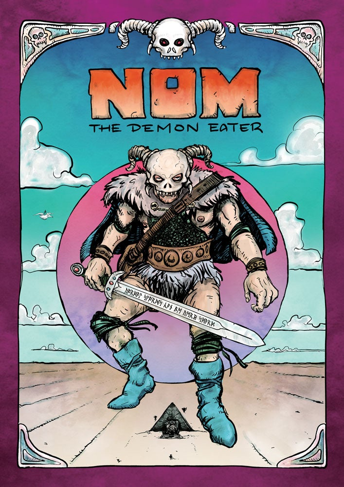Image of NOM: The Demon Eater! comic