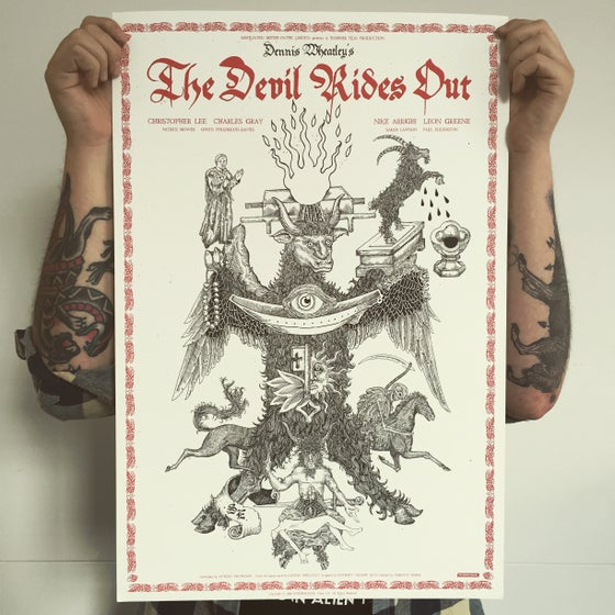 Image of The devil rides out. Artist copies.