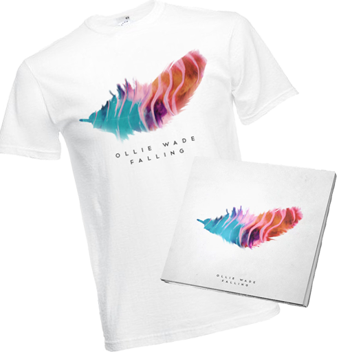 Image of 'Falling' EP + T-Shirt (Save £2.50)