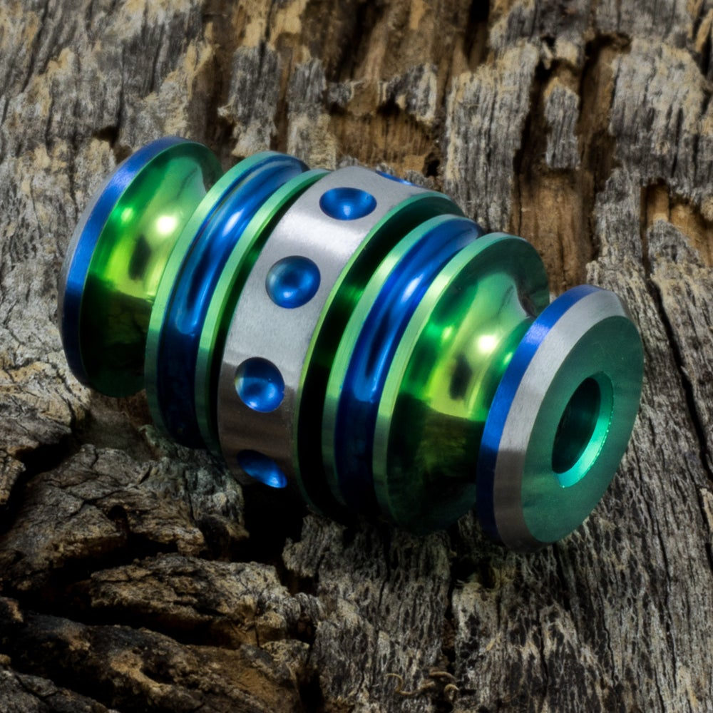 Image of Kong Bead Green & Blue #1