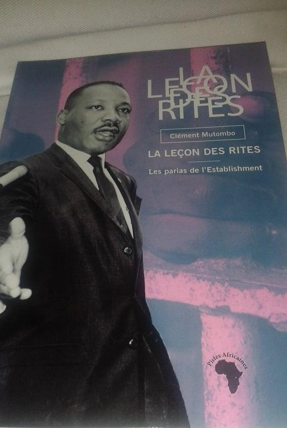 Image of La leçon de rites