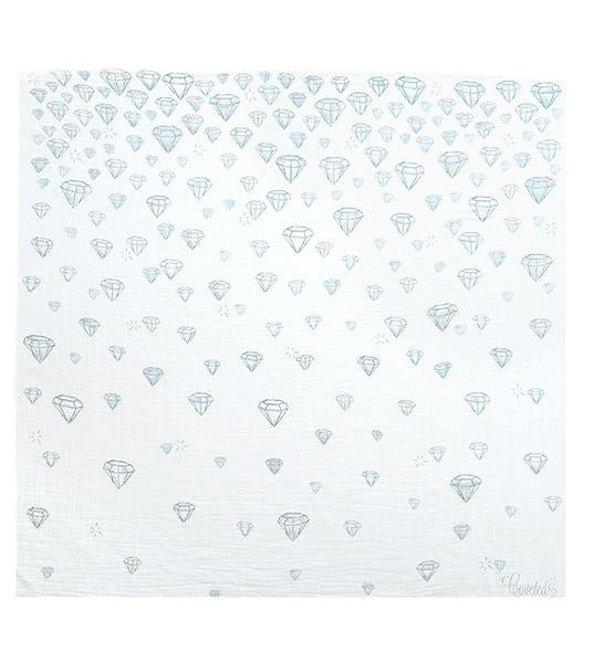 Image of Coveted Things Organic Swaddle Scarves | Diamonds