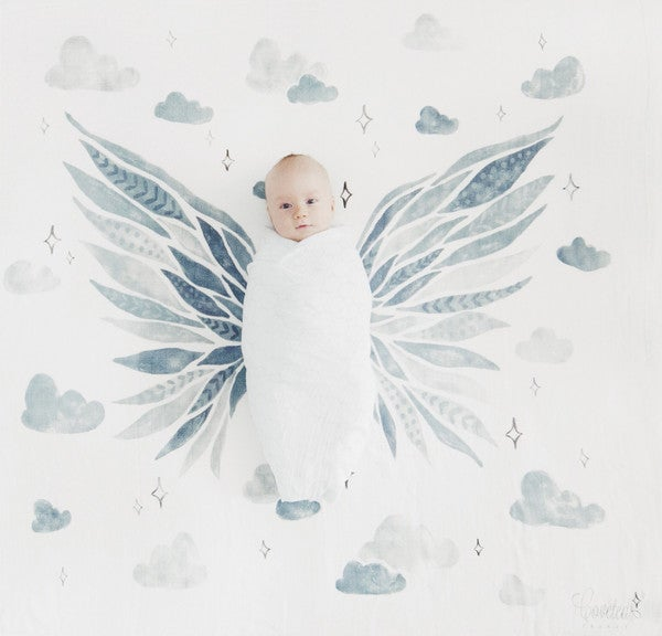 Image of Coveted Things Organic Swaddle Scarves | Wings