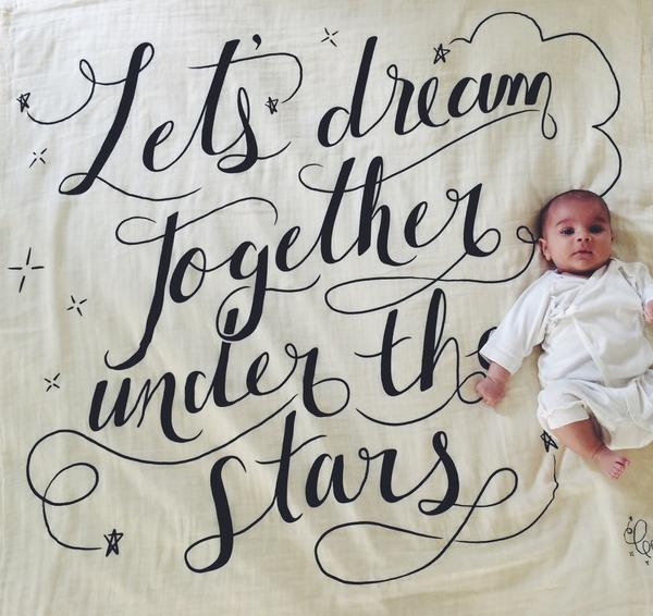 Image of Coveted Things Organic Swaddle Scarves | Dream Together