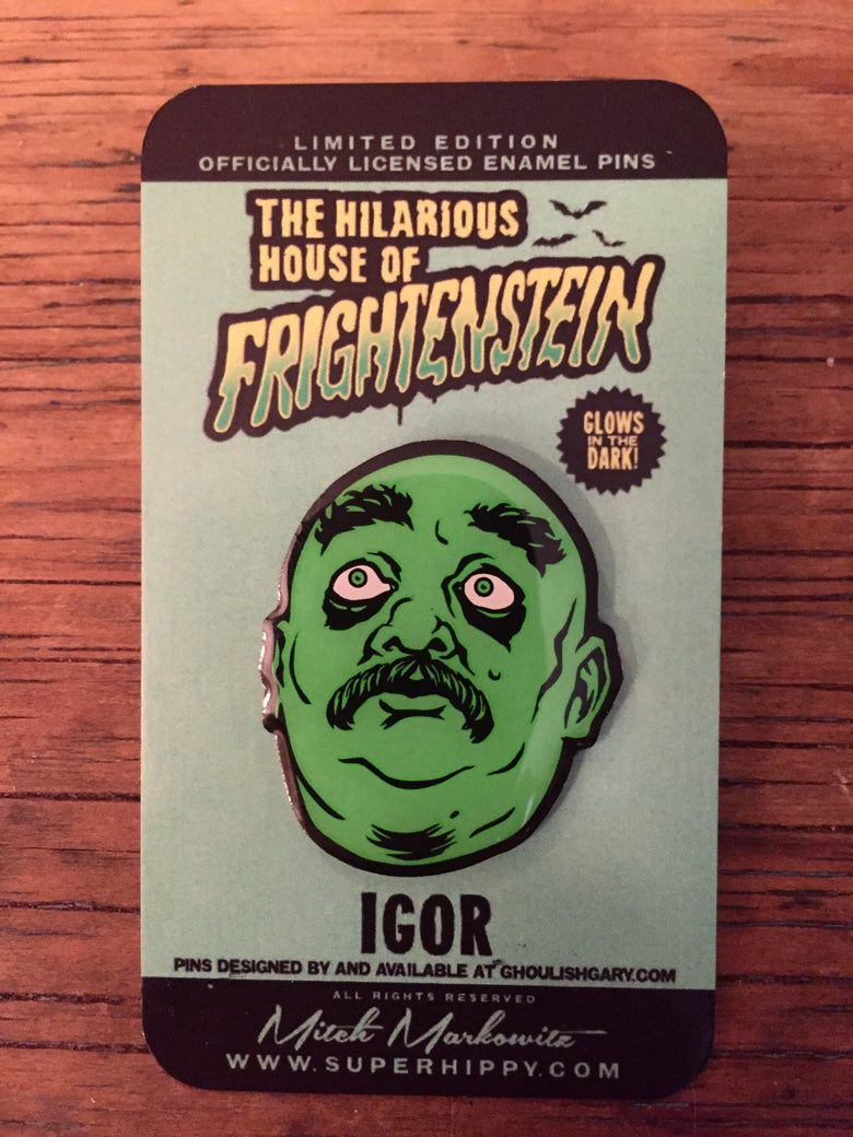 Image of Igor - Hilarious House of Frightenstein pin