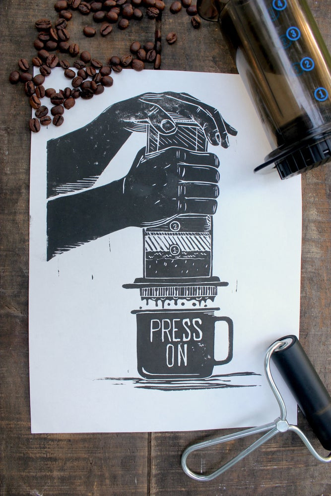 "Image of ""Press On"" Print"