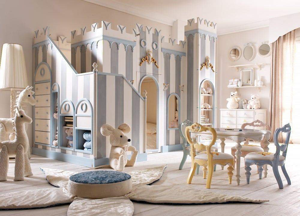 Image of Notte Fatata Viola's Castle Bunk Beds | Please call to Order