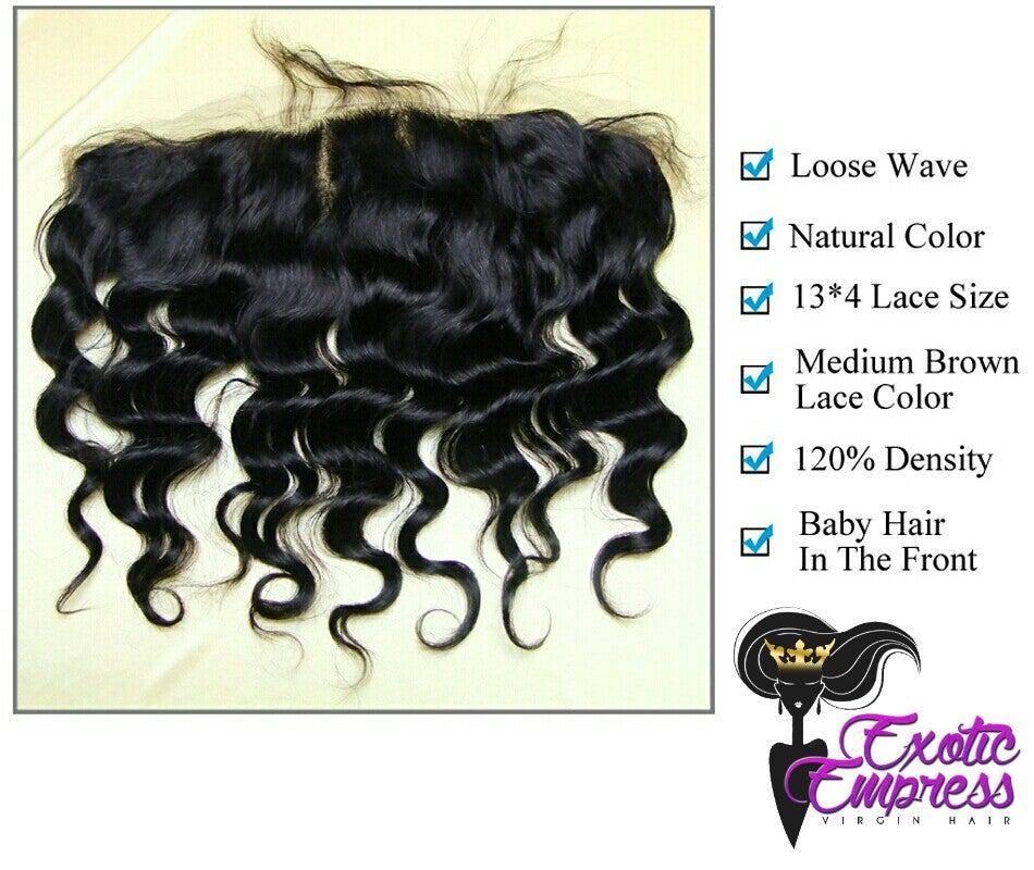 Image of Empress Cheveaux Lace Frontals Wavy or Straight