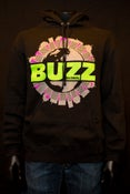 Image of Buzz Globe World Blacklight Pull Over Hoodie