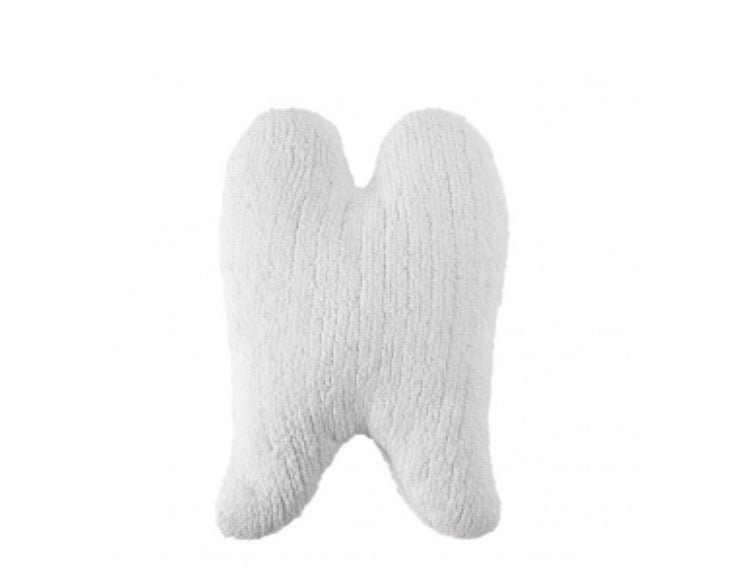 Image of Lorena Canals Washable Cushion   White Wings