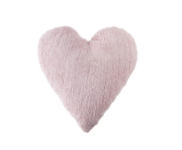 Image of Lorena Canals Washable Cushion | Pink Heart
