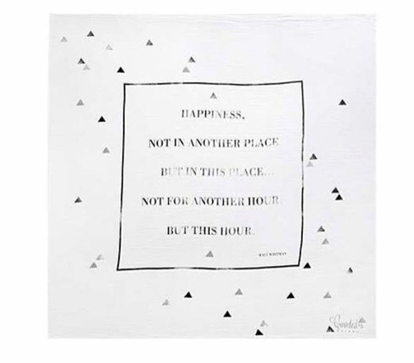 Image of Coveted Things Organic Swaddle Scarves | Happiness