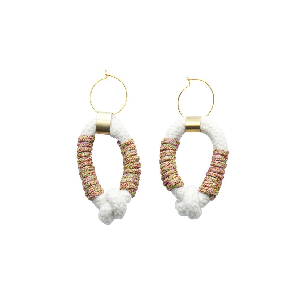 Image of Candy loop a loop earrings