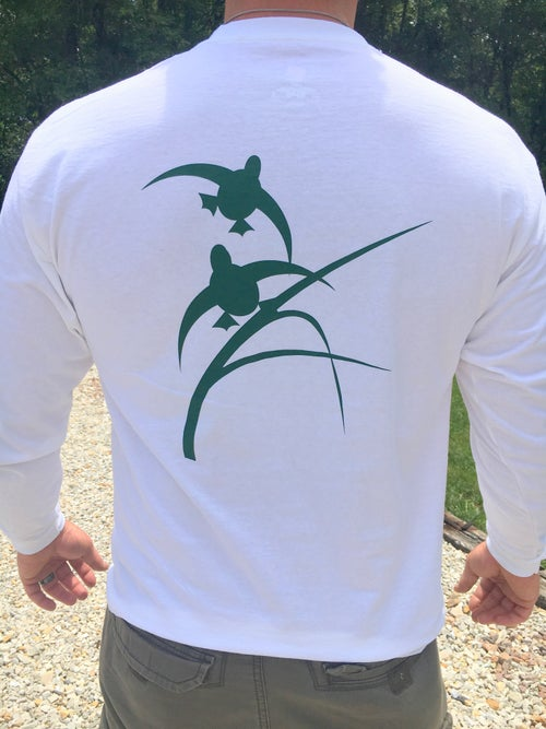 Image of Habitat Flats Long Sleeve White Shirt