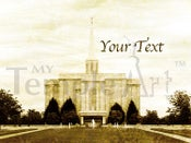 Image of St Louis Missouri LDS Mormon Temple Art 001-Personalized LDS Temple Art
