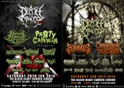 Image of Death To Cancer Fest Posters