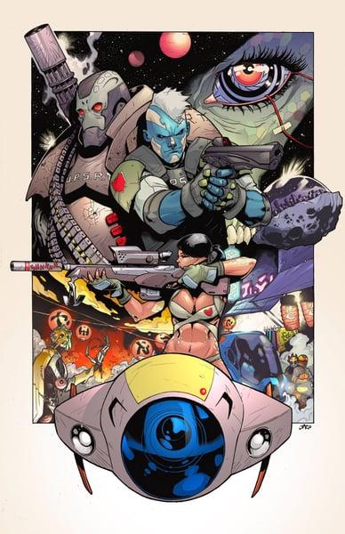 Image of Upstarts poster by Jo Jaro