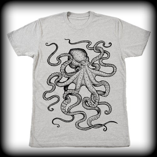 Image of Gray Octo Tee