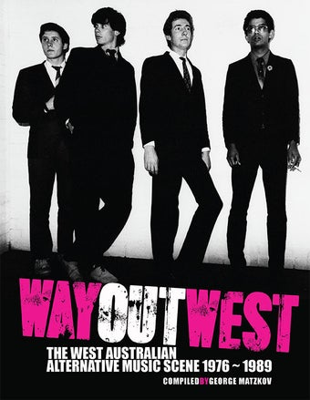 Image of Way Out West Book/CD (SECONDS)