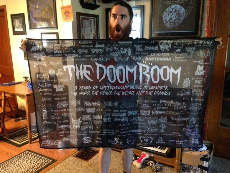 Image of Doom Room Wall Flags(5 OPTIONS)