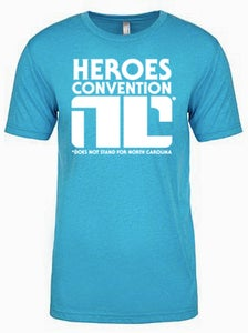 Image of HeroesCon Non-Compliant t-shirt