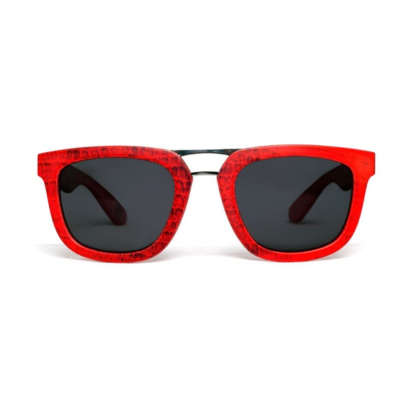 Image of Red Snake Skin Aviator