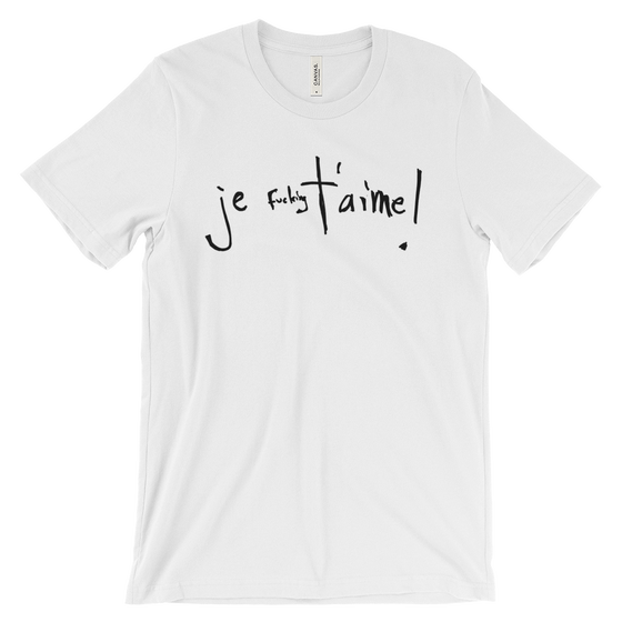 Image of Je T'aime Short Sleeve Jersey T