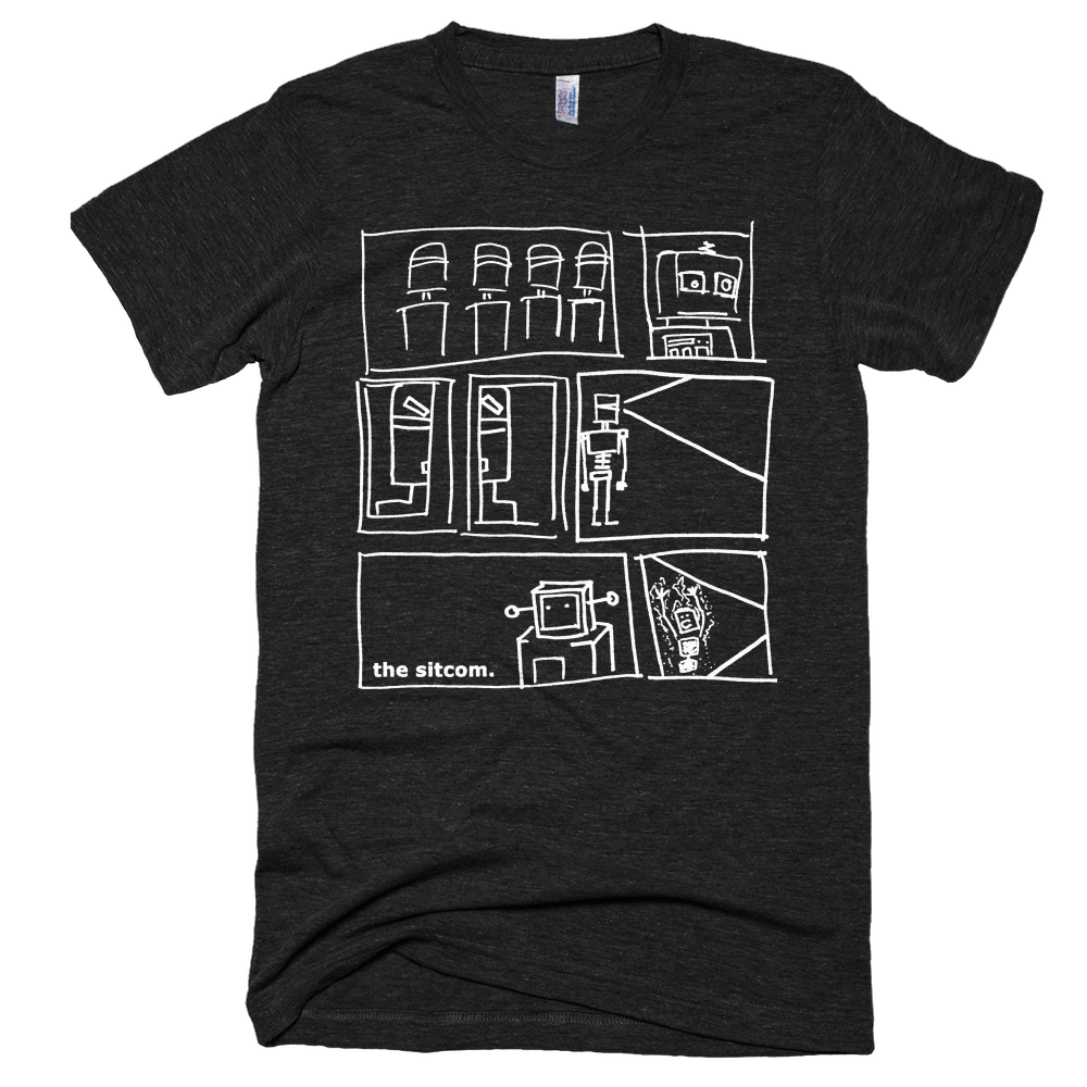 Image of Robots Tri-Blend Short Sleeve T