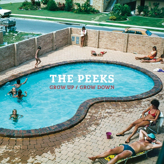 Image of The Peeks 'Grow Up/Grow Down' Vinyl LP