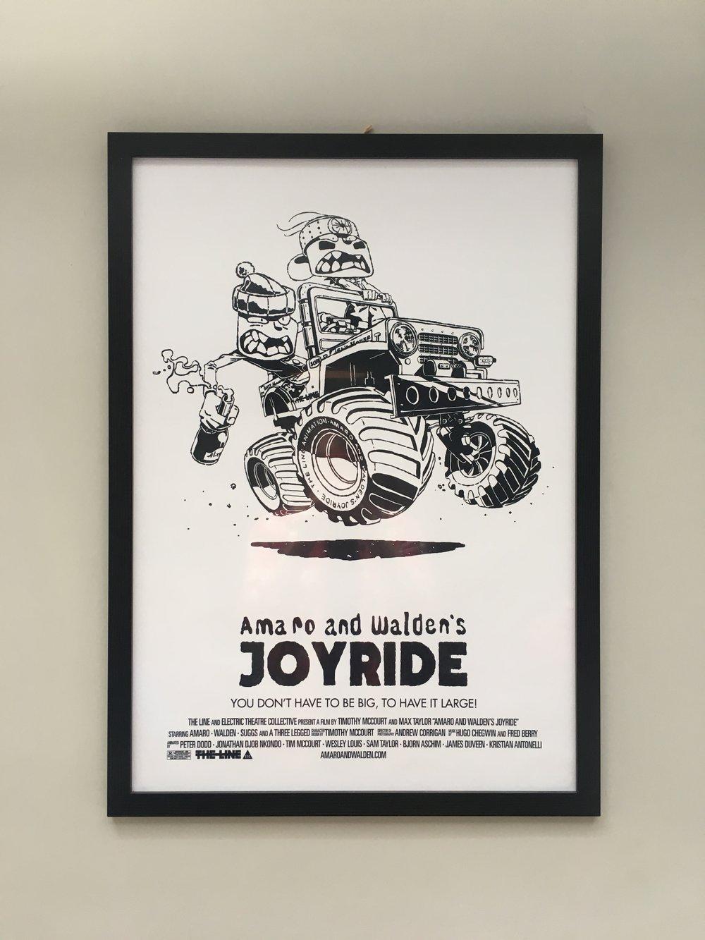 Image of Joyride Poster