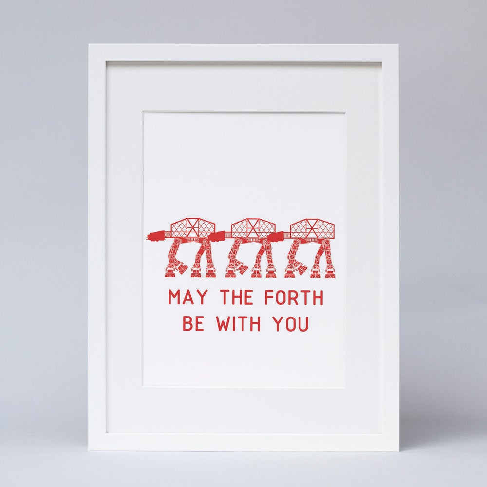 Image of 'May the Forth be with you' (Print)