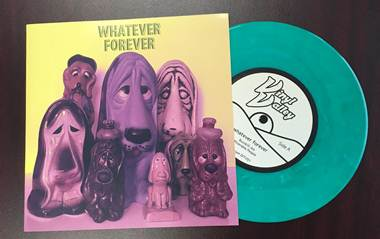 "Image of WHATEVER FOREVER 7"" (Green Vinyl w/download)"