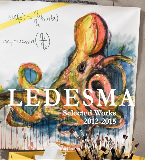 Image of Ledesma. Selected Works. 2012 - 2015