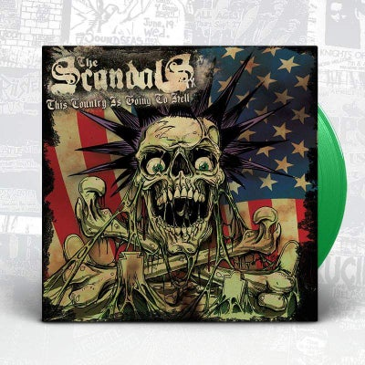 "Image of The Scandals TX - This Country Is Going To Hell 7"" EP"